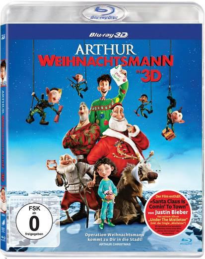 blu-ray 3D Arthur Weihnachtsmann FSK: 0