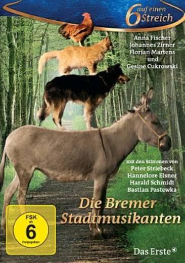 DVD Die Bremer Stadtmusikanten - 6 auf einen Streich FSK: 6
