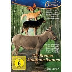 Image of DVD Die Bremer Stadtmusikanten - 6 auf einen Streich FSK: 6