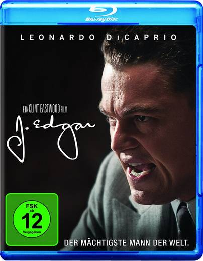 blu-ray J. Edgar FSK: 12