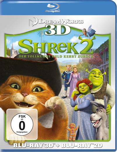 Shrek 2 - Der tollkühne Held kehrt zurück 3D + 2D