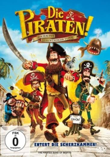 DVD Die Piraten - Ein Haufen merkwürdiger Typen FSK: 0