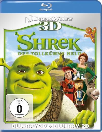 Shrek 1 - Der tollkühne Held 3D + 2D