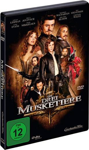 DVD Die drei Musketiere FSK: 12