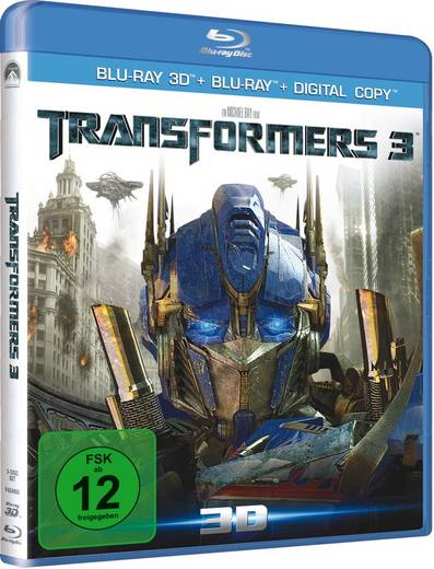 blu-ray Transformers 3 - Dark of the moon - 3D Superset FSK: 12