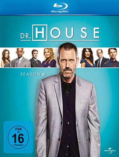 blu-ray Dr. House Staffel 6 FSK: 16
