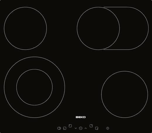 Glaskeramik-Kochfeld 58 cm BEKO HIC 64403 T 7200 W Autark