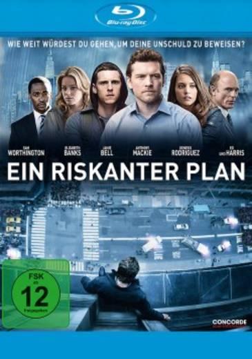 blu-ray Ein riskanter Plan FSK: 12
