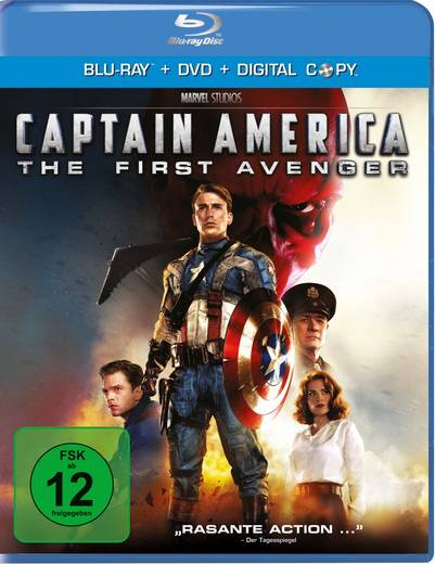 Captain America - The First Avenger (und DVD)