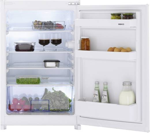Kühlschrank 126 l BEKO B 1802 Energieeffizienzklasse (A+++ - D): A++ Einbaugerät Weiß