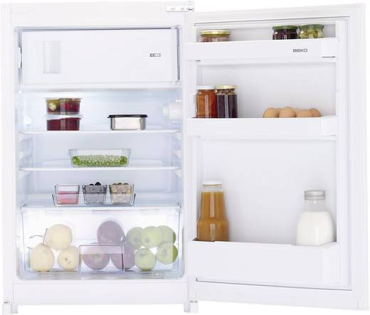 Kühlschrank 110 l BEKO B 1752 EEK: A++ Einbaugerät Weiß