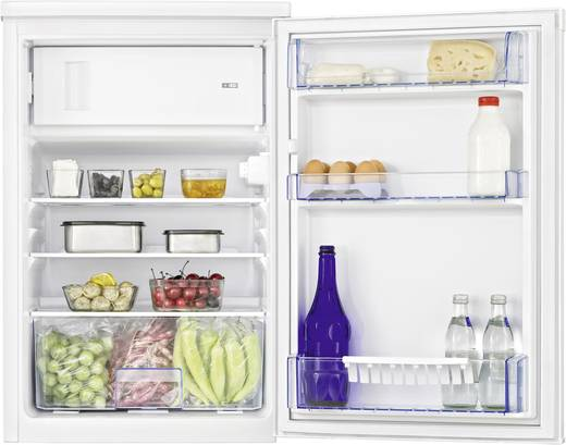 Kühlschrank 114 l BEKO TSE 1283 Energieeffizienzklasse: A++ Unterbaufähig Weiß