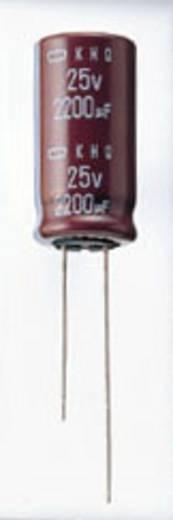 Elektrolyt-Kondensator radial bedrahtet 10 mm 820 µF 160 V 20 % (Ø x L) 30 mm x 25 mm Europe ChemiCon EKMQ161VSN821MR25