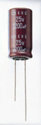 Elektrolyt-Kondensator radial bedrahtet 2.5 mm 1 µF 400 V 20 % (Ø x L) 6.3 mm x 11 mm Europe ChemiCon EKMG401ETD1R0MF11D 2000 St.