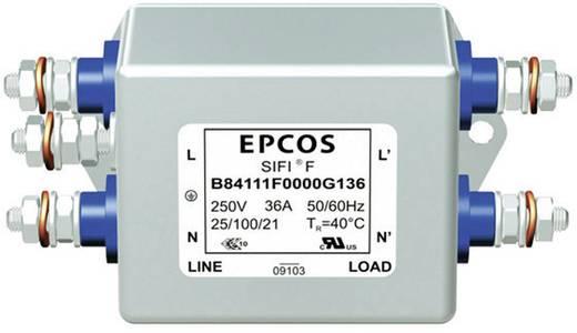 Entstörfilter 250 V/AC 6 A 3.3 mH (L x B x H) 105 x 84 x 38.1 mm Epcos B84112B 1 St.