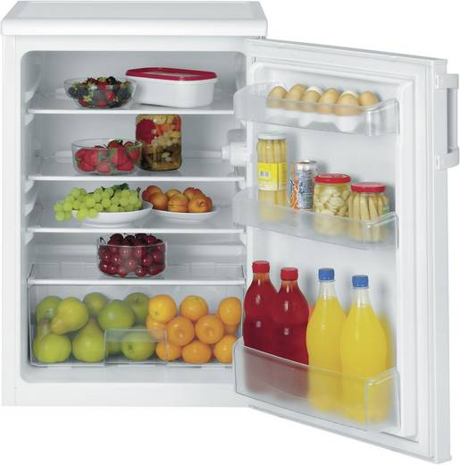 Kühlschrank 130 l Elektra Bregenz KTS 1132 Energieeffizienzklasse (A+++ - D): A++ Unterbaufähig Weiß