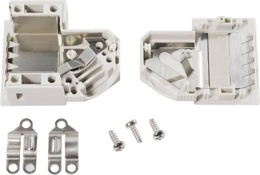 D-SUB Gehäuse Polzahl: 15 Kunststoff 45 ° Grau TE Connectivity AMPLIMITE HDP-20 1 St.