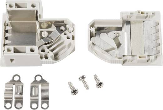 D-SUB Gehäuse Polzahl: 50 Kunststoff 45 ° Grau TE Connectivity AMPLIMITE HDP-20 1 St.