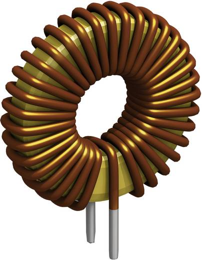 Drossel Ringkern radial bedrahtet Rastermaß 18 mm 100 µH 10 A Fastron TLC/10A-101M-00 1 St.