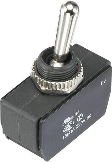 Kippschalter 250 V/AC 16 A 1 x Aus/Ein SCI R13-477A1-01-HR IP56 rastend 1 St.