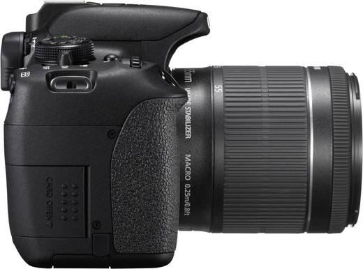 Digitale Spiegelreflexkamera Canon EOS 700D Kit inkl. EF-S 18-55 mm IS 18.0 Mio. Pixel Schwarz Full HD Video, Dreh-/schw