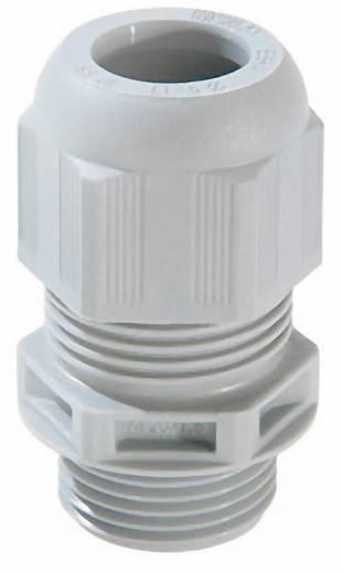 Kabelverschraubung M12 Polyamid Licht-Grau (RAL 7035) Wiska ESKV-F- 12 50 St.