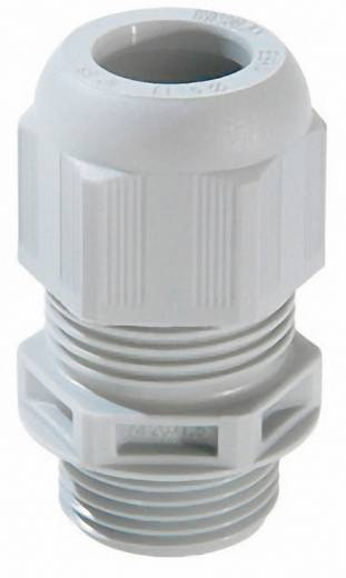 Kabelverschraubung M20 Polyamid Licht-Grau (RAL 7035) Wiska ESKV-F- 20 50 St.