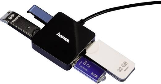 4 Port USB 2.0-Hub Hama Schwarz