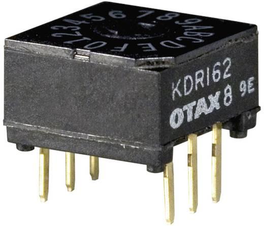 Kodierschalter Hexadezimal 0-9/A-F Schaltpositionen 16 OTAX KDR-162 45 St.