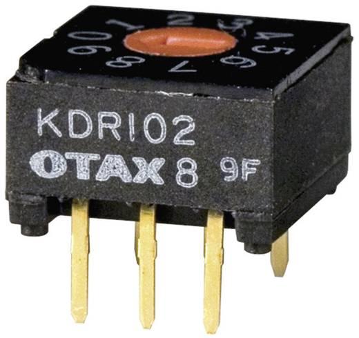 Kodierschalter BCD 0-9 Schaltpositionen 10 OTAX KDR-102 45 St.