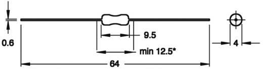 HF-Drossel axial bedrahtet 1500 µH 21.6 Ω 0.1 A Fastron SMCC-152J-02 1 St.