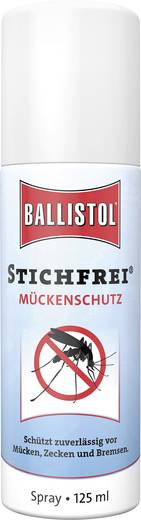 Insektenschutz-Spray Ballistol Stichfrei 26810 Transparent 125 ml