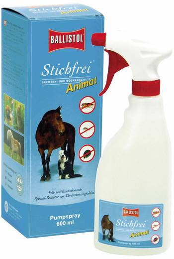 Insektenschutz-Spray Ballistol Stichfrei Animal 26831 Transparent 600 ml