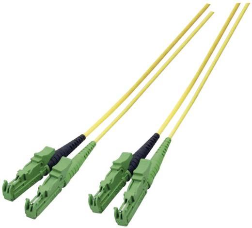 Glasfaser LWL Anschlusskabel [1x E2000®/APC 8°-Stecker - 1x E2000®/APC 8°-Stecker] 9/125µ Singlemode OS2 0.50 m EFB Elek