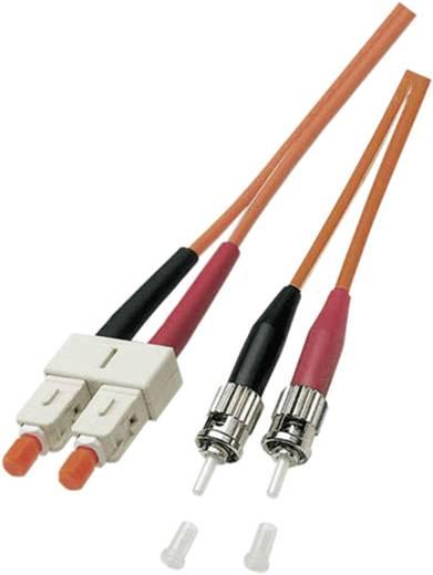 Glasfaser LWL Anschlusskabel [1x ST-Stecker - 1x SC-Stecker] 50/125µ Multimode OM2 10 m EFB Elektronik