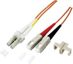 Optické vlákno optické vlákno kabel EFB Elektronik O0314.2 [1x zástrčka LC - 1x zástrčka SC], 2 m, tyrkysová