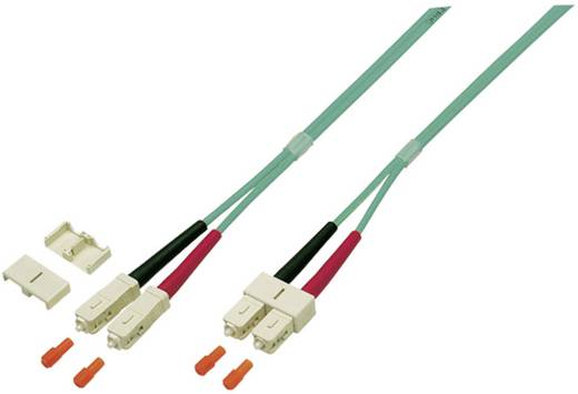 Glasfaser LWL Anschlusskabel [1x SC-Stecker - 1x SC-Stecker] 50/125µ Multimode OM4 1 m EFB Elektronik