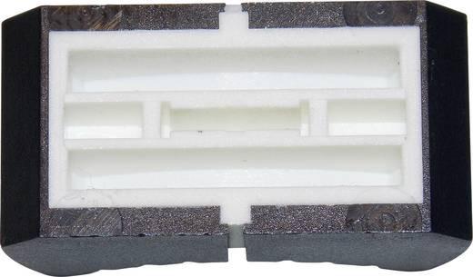 Schiebeknopf Schwarz (L x B) 13 mm x 25 mm ALPS 76501 1 St.