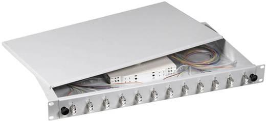LWL-Spleißbox 48 Port LC Bestückt EFB Elektronik B70902.48OM3 1 HE