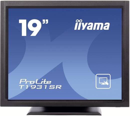 Touchscreen-Monitor 48.3 cm (19 Zoll) Iiyama T1931SR-B1 1280 × 1024 Pixel 5:4 5 ms VGA, DVI