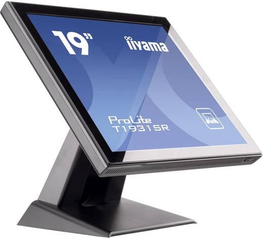 Touchscreen-Monitor 48.3 cm (19 Zoll) Iiyama T1931SR-B1 1280 x 1024 Pixel 5:4 5 ms VGA, DVI