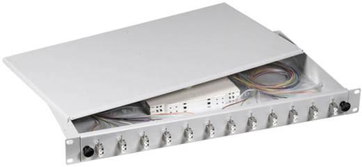 LWL-Spleißbox 12 Port LC Bestückt EFB Elektronik B70902.12OM3 1 HE
