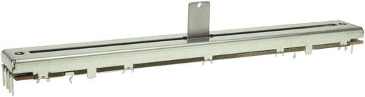 Schiebe-Potentiometer 100 kΩ Stereo 0.5 W logarithmisch ALPS 193740 1 St.