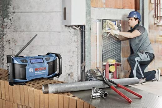 UKW Baustellenradio Bosch Professional GML 14,4/18 V Blau, Schwarz