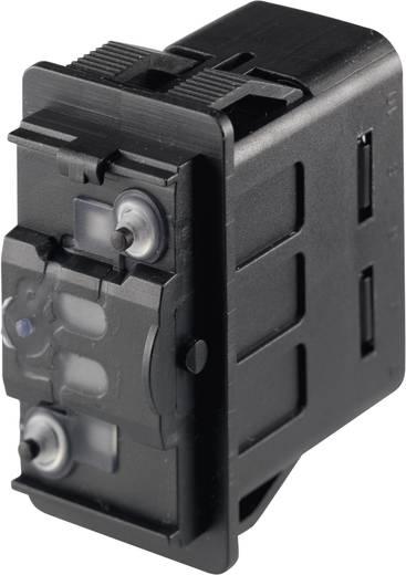 Kfz-Wippschalter 12 V/DC, 24 V/DC 10 A 2 x (Ein)/Aus/(Ein) tastend Marquardt 3250.0418 IP66/IP67 1 St.