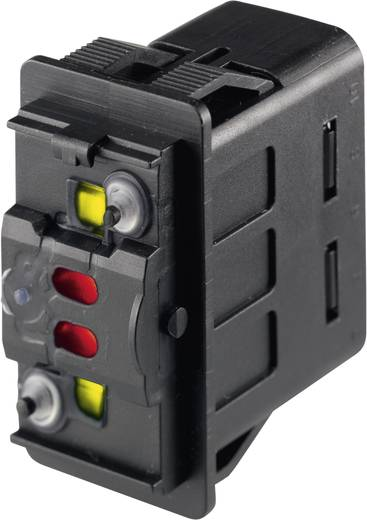 Kfz-Wippschalter 12 V/DC 10 A 2 x Ein/Ein/Ein rastend Marquardt 3250.0511 IP66/IP67 1 St.
