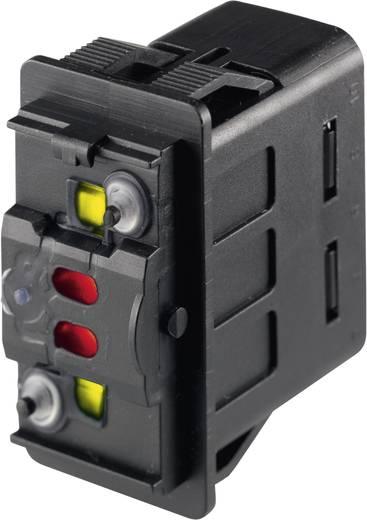 Kfz-Wippschalter 24 V/DC 10 A 2 x (Ein)/Ein/(Ein) tastend Marquardt 3250.0577 IP66/IP67 1 St.