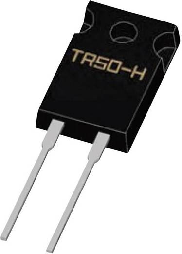 Hochlast-Widerstand 128 Ω radial bedrahtet TO-220 50 W Weltron TR50FBD1280-H 1 % 1 St.