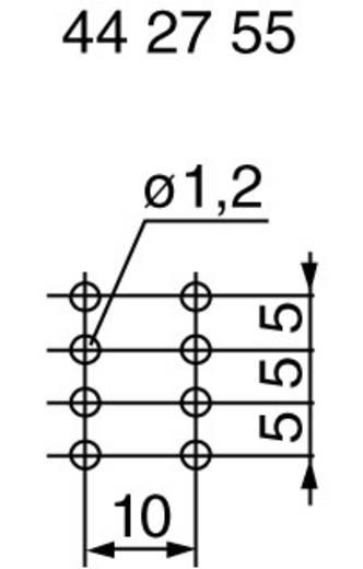 Dreh-Potentiometer staubdicht, mit Mittelrasterung Stereo 0.05 W 10 kΩ ALPS RK27112 10KBX2CC 1 St.