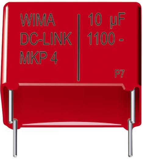 MKP-Folienkondensator radial bedrahtet 8 µF 1100 V/DC 20 % 37.5 mm (L x B x H) 41.5 x 20 x 39.5 mm Wima DC-LINK MKP4 1